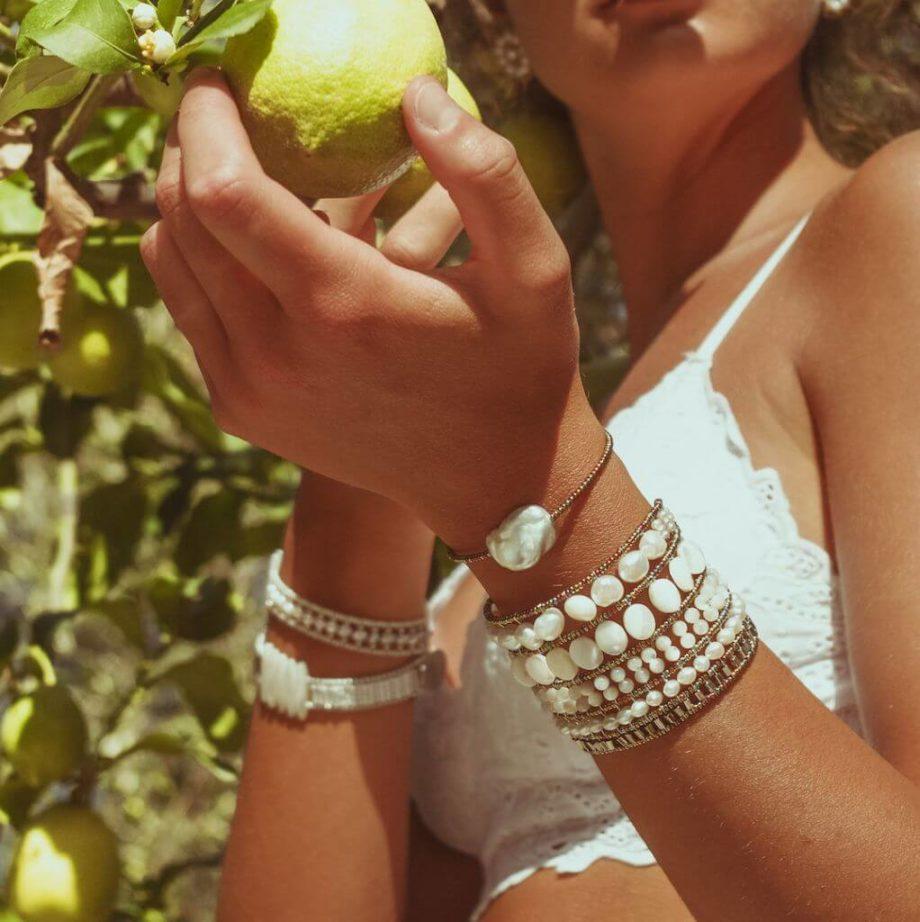 Ziio-Jewels- Bracelet Zen Baroque