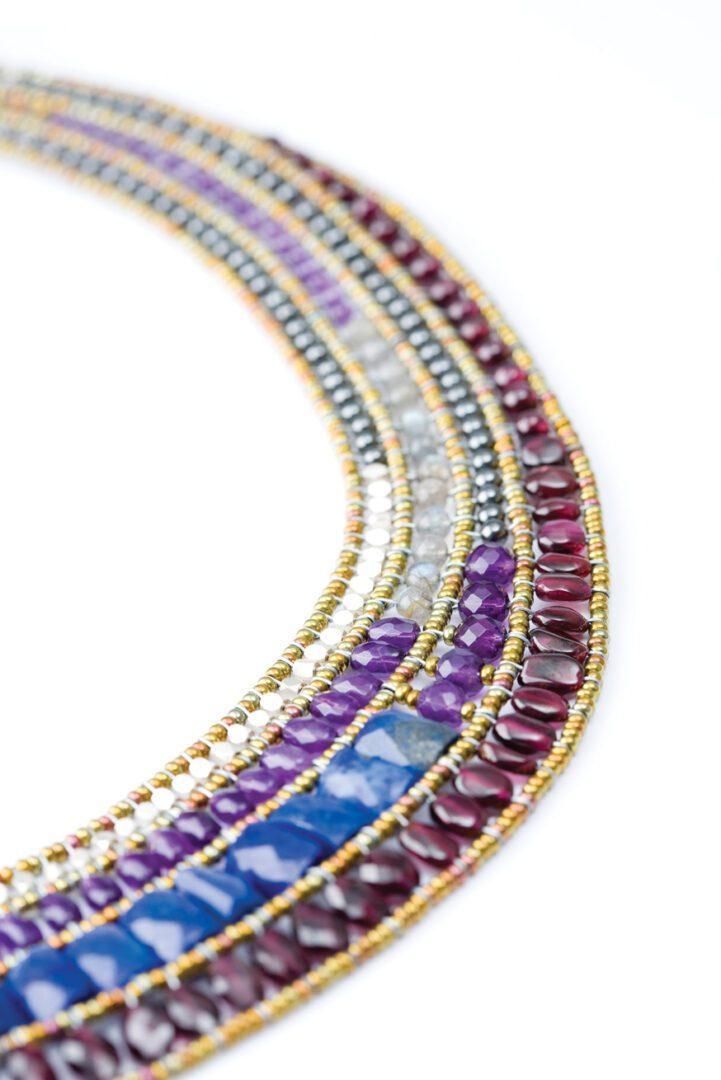 Ziio-Necklace BEAUTE detail