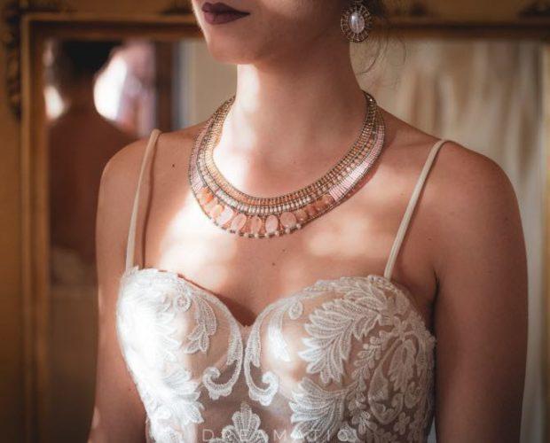 Ziio necklace Goiaba Pink Morganite