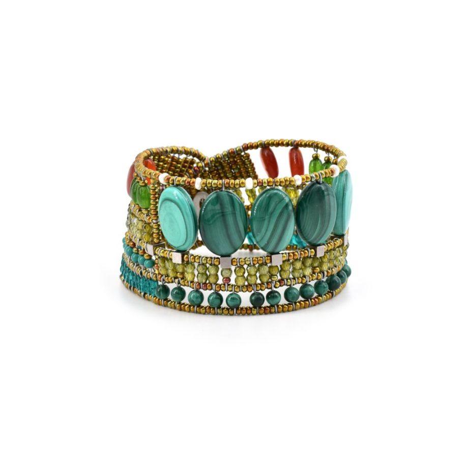 Bracelet Goiaba Malachite