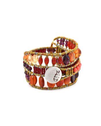 Ziio bracelet Evolution orange