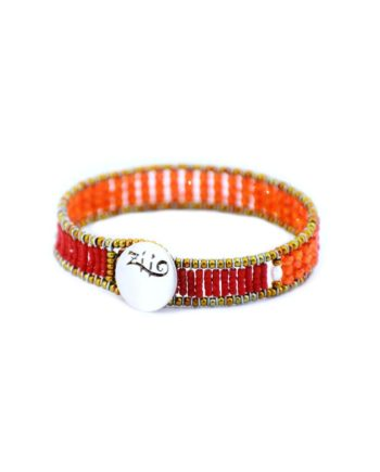 Bracelet Ziio Goaiba small sil Orange