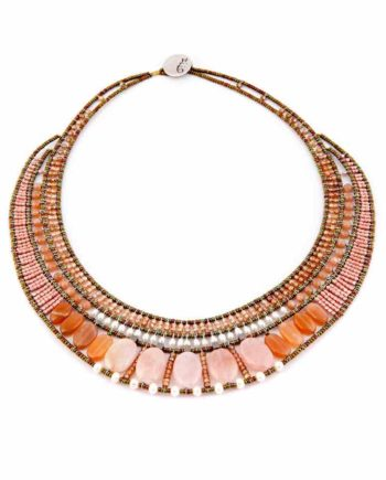 necklace Goiaba Morganite