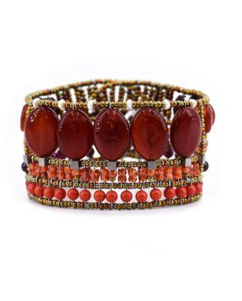 bracelet goiaba orange