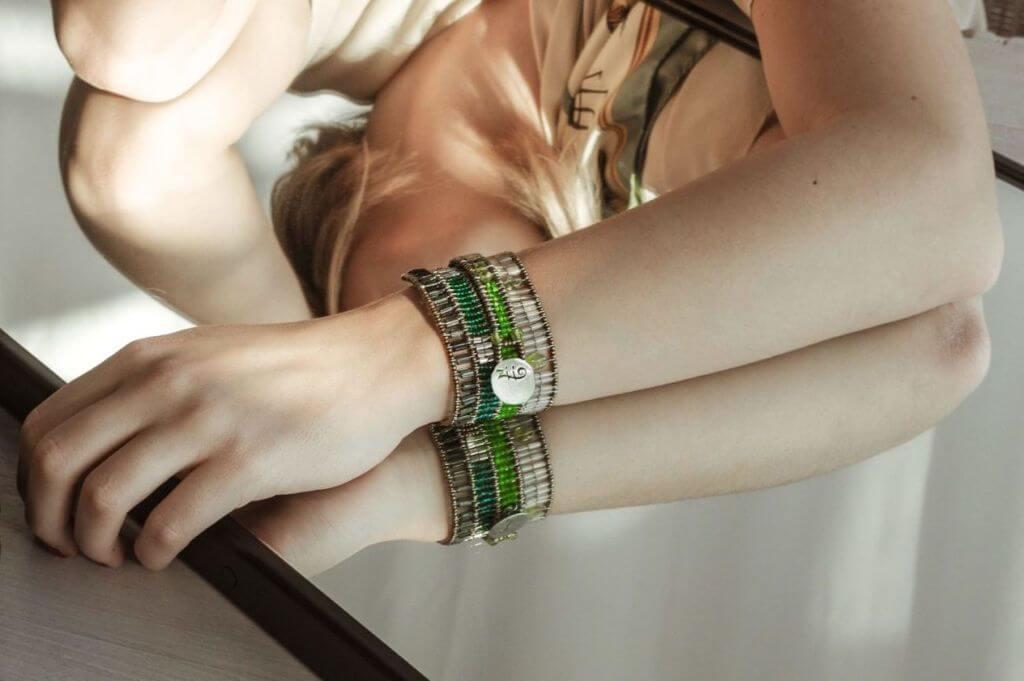 ziio-jewels-Bracelet-Liberty-Evolution-Green-INDOS