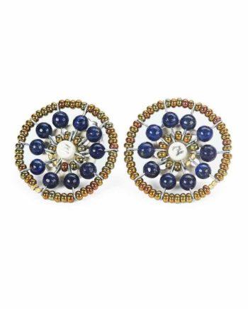 Earrings Sol Lapis