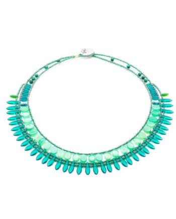 necklace mistinguett Green