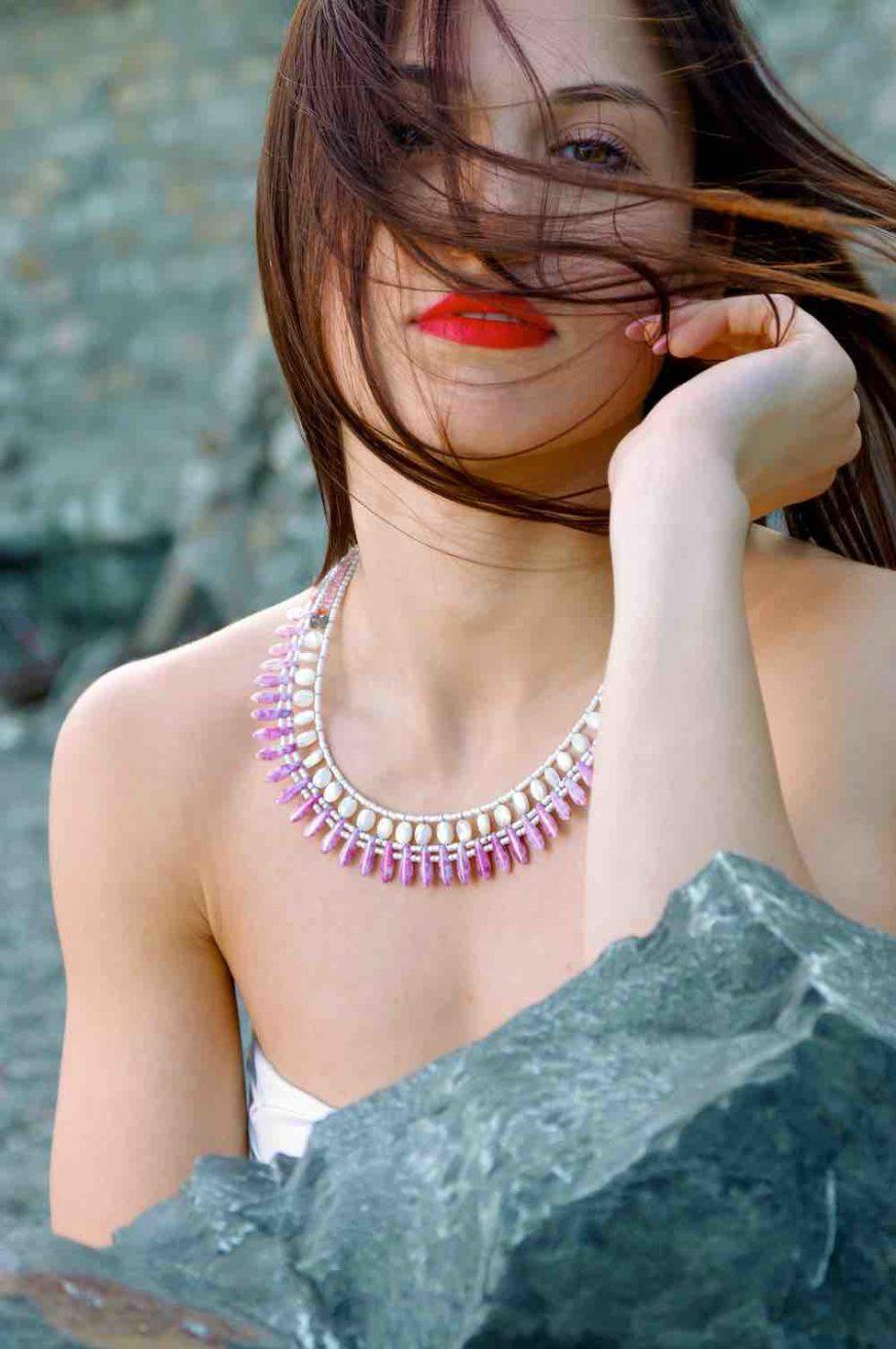 necklace mistinguett Pinky