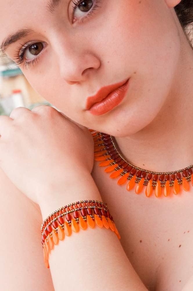 Mistinghett Jewels Collection-Bracelet MISTINGUETT Orange
