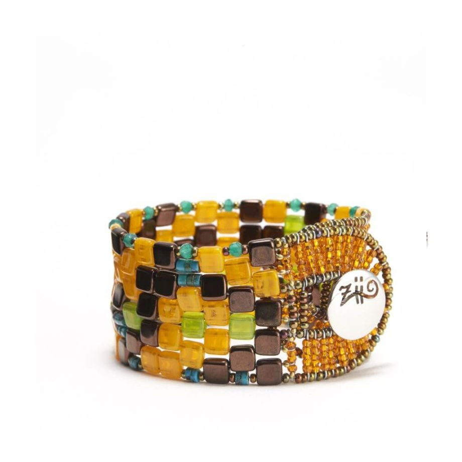 Ziio Jewels Bracelet Pixel Arancio