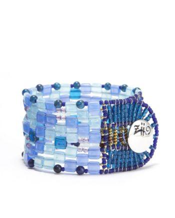 Bracelet Pixel Blu