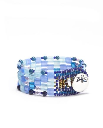 Ziio-Jewels-bracelet pixel blu small