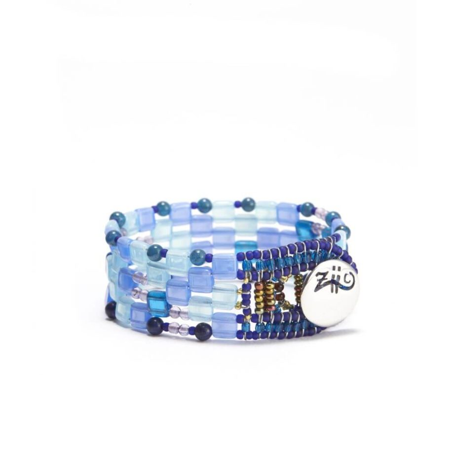 Ziio-Jewels-bracelet pixel blu small