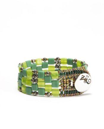 bracelet pixel green small