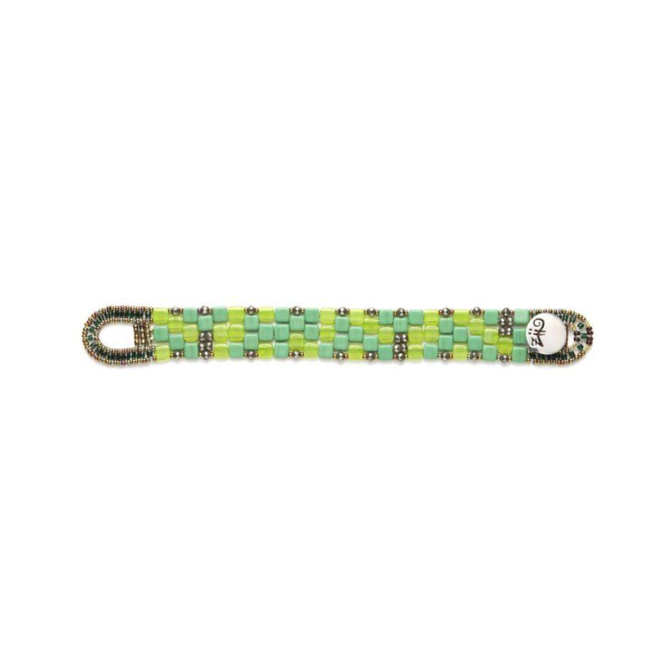 Ziio-Jewels-Bracelet-Pixel-Green-Small