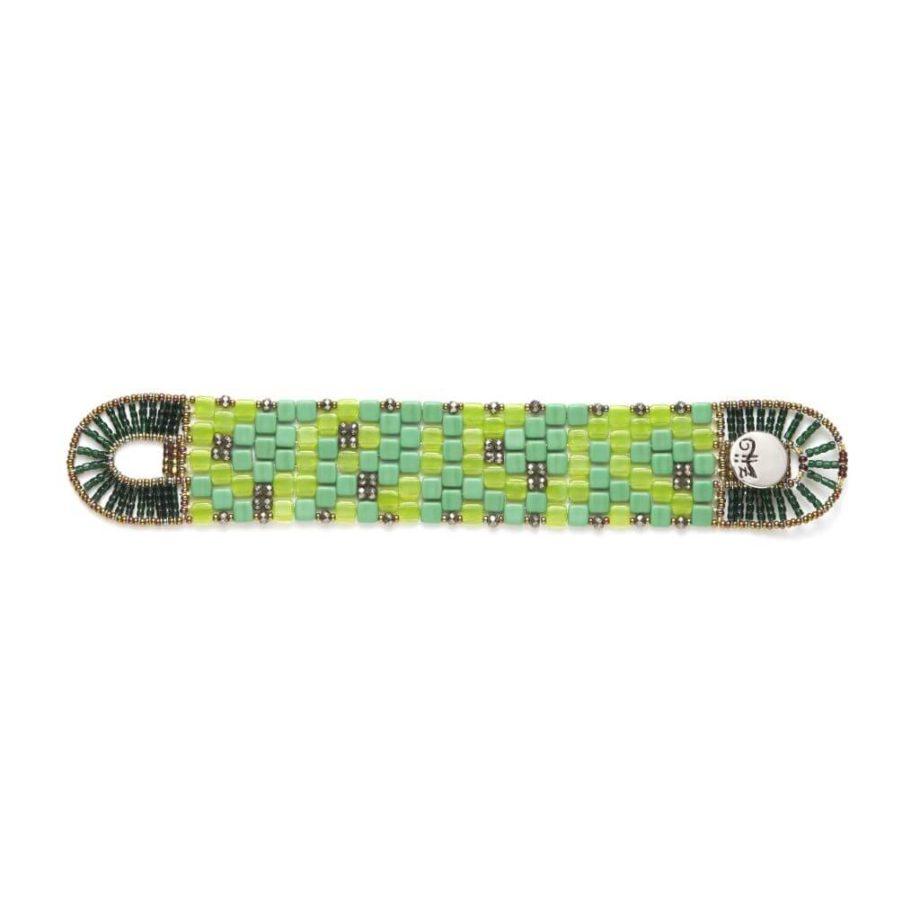 Ziio Jewels Bracelet Pixel Green-flat