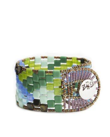 Ziio Jewels Bracelet Pixel Onda Blu