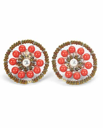 Sol Jewels Collection Earrings Sol Red