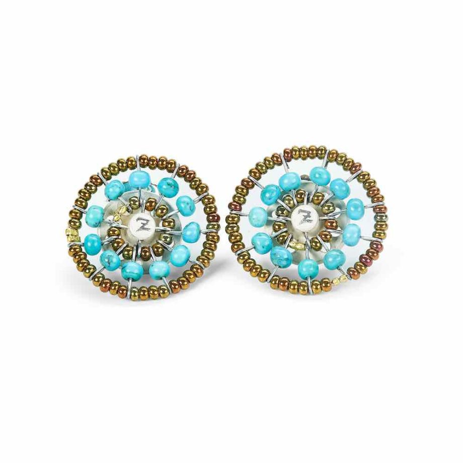 Sol Jewels Collection Earrings Sol Turchese
