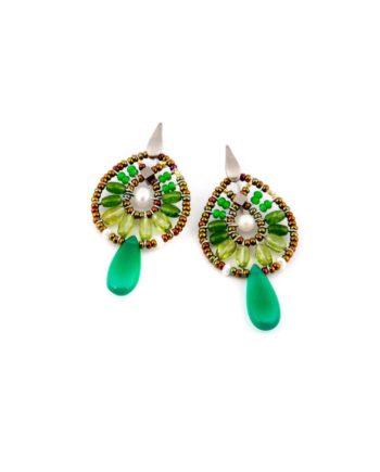 orecchini-fenice-small-Green