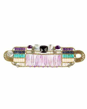 Bracelet Incas Large Violet