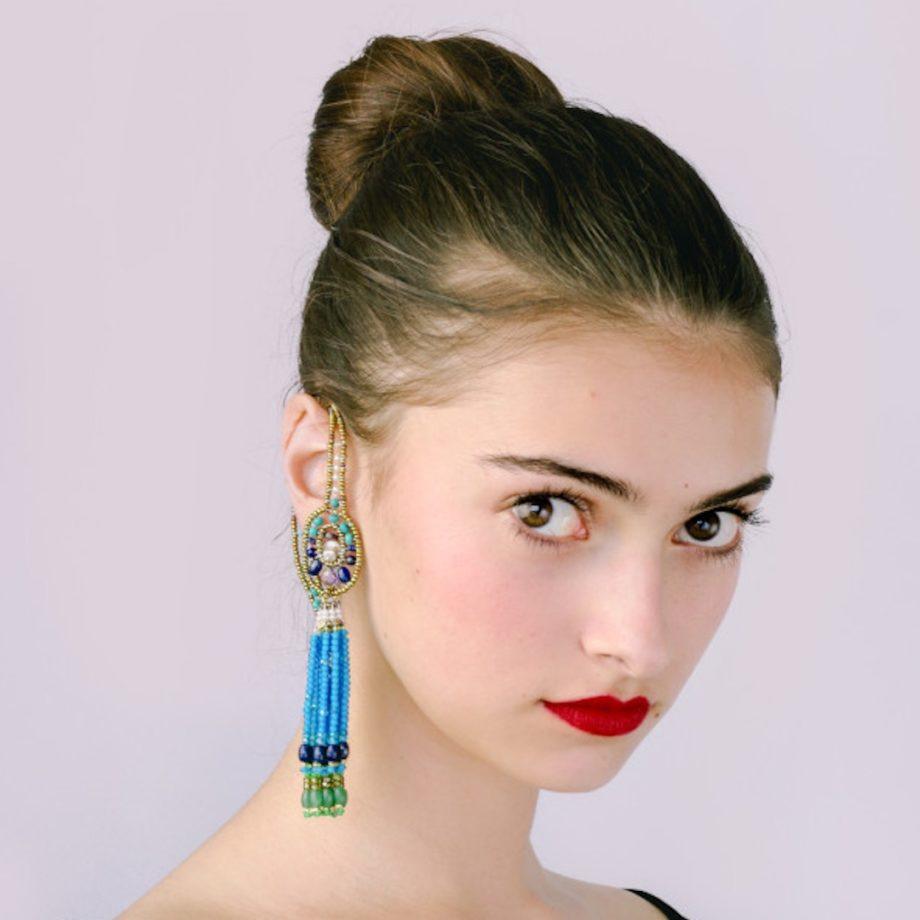 Earrings Chandelier Single -IP