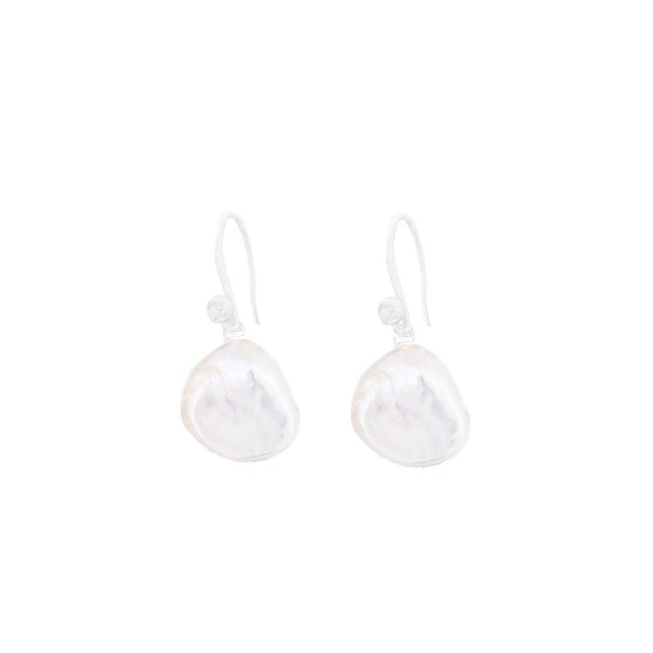 Handmade Earrings Tresor Pearl Gancio