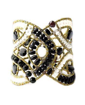 Handmade Bracelet Amore Black