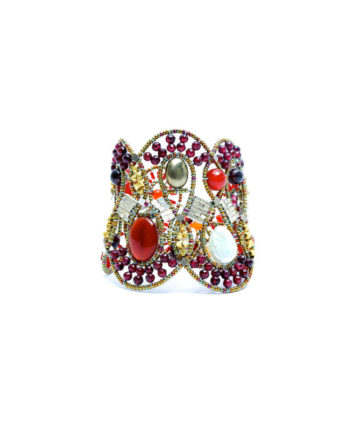ziio-jewels-Bracelet-MAMBA-red-front-c