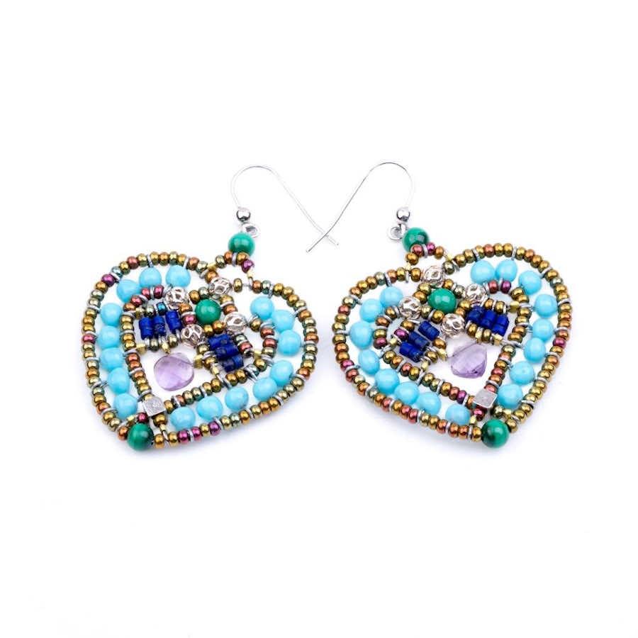Ziio-jewels-Earrings-Coeur-Blu