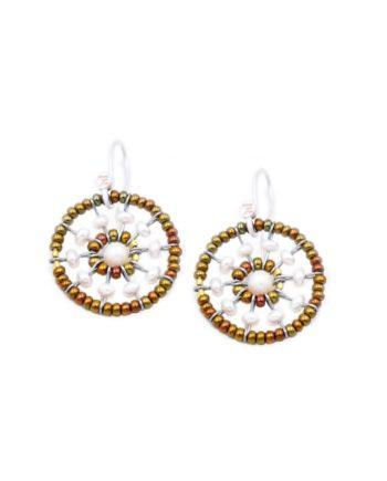 Earrings Soleil Pearl