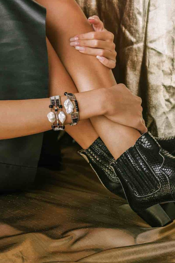 Ziio Jewels Collection - Bracelets Baroque Thin and Double