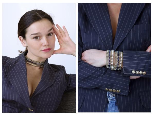 Boa Jewels Collection-Boa Bracelet and Ckocker