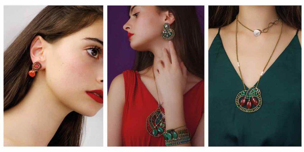 Goaiba Jewels Collection Pendants Goiaba Earrings Goiaba