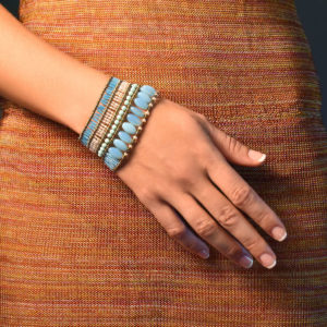 Bracelet Blu Note liberty - Ziio-Jewels