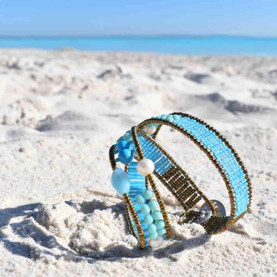 Bracelet Blue Note Boa - Ziio Jewels