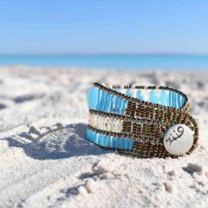Bracelet Blue Note Coloratissimo-beach-Ziio Jewels