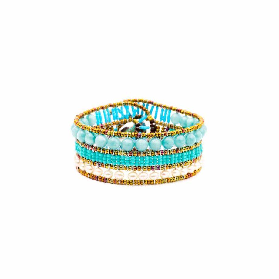 Bracelet ROCK TURCHESINO- Ziio Jewels