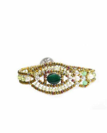 Bracelet Rha Malachite-Ziio-Jewels
