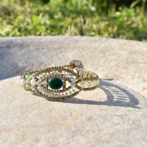 Bracelet Rha Malachite - Ziio Jewels