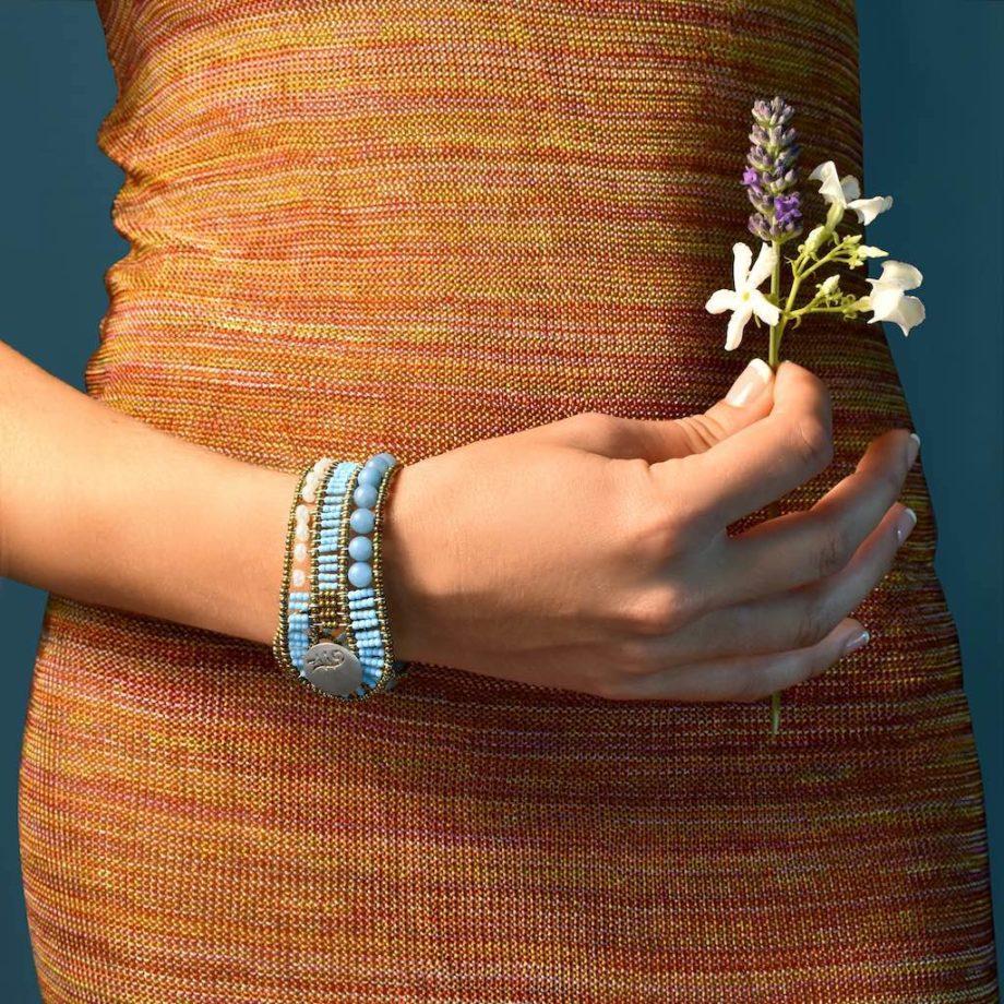Bracelet Rock Turchesino - Ziio Jewels