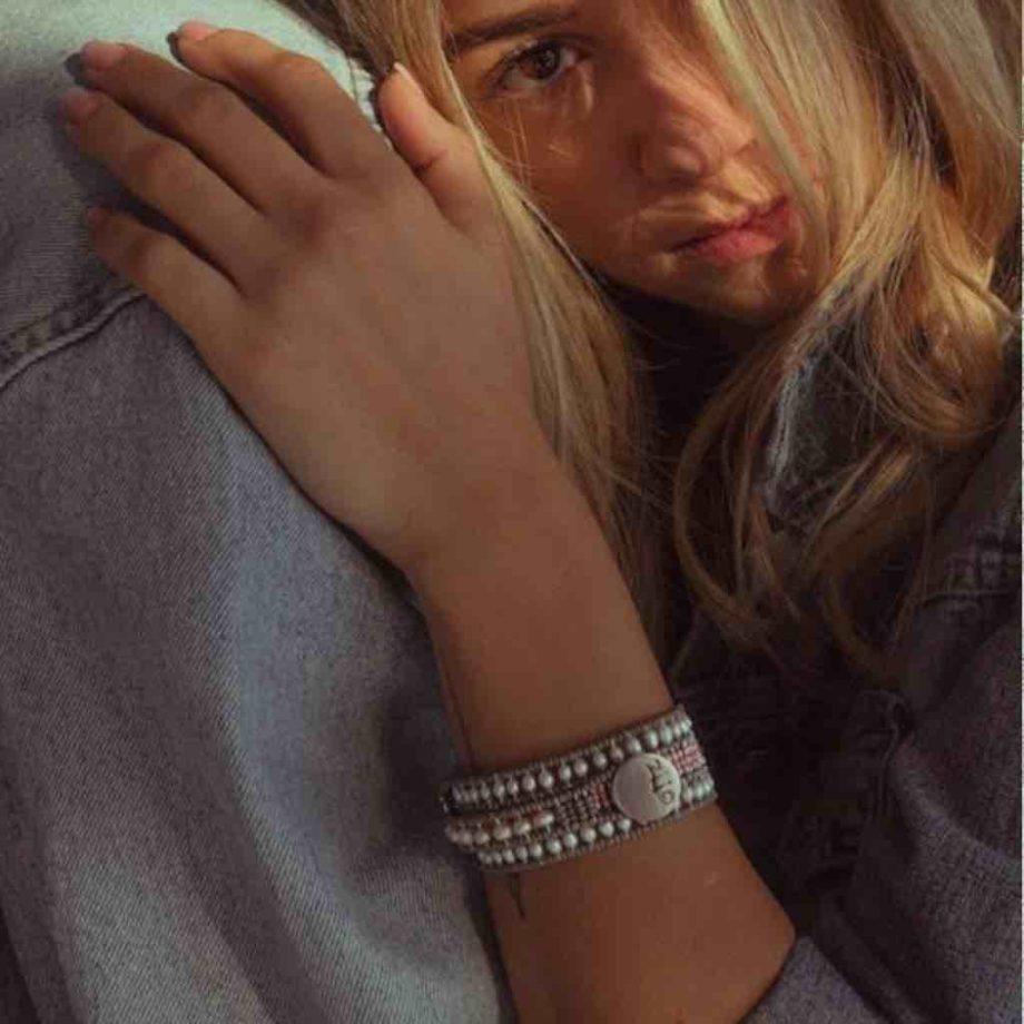 Bracelet Evolution Pastel Pink - Ziio Jewels