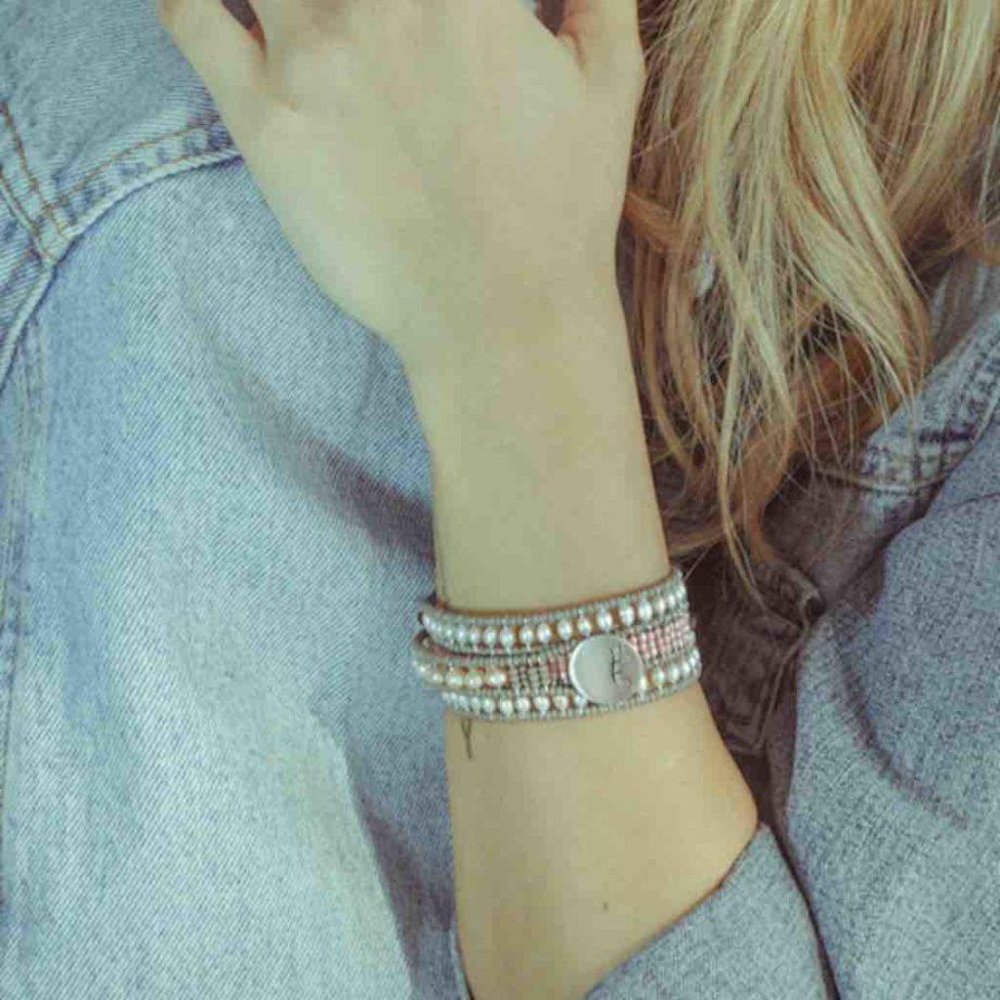 Bracelet Evolution Pastel Pink - Ziio Jewels-IND