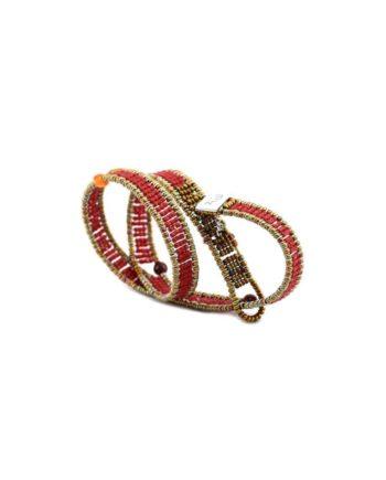 Bracelet Boa Goiaba Red Ziio Jewels