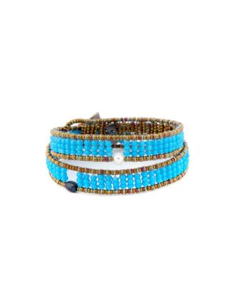 Bracelet Boa Z Fenice Blu Ziio Jewels