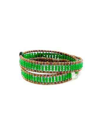 Bracelet Boa Z Fenice Green Ziio Jewels
