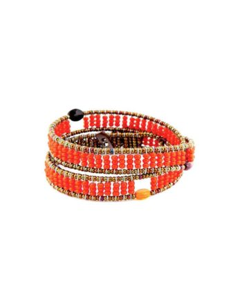 Bracelet Boa Z Fenice Orange Ziio Jewels