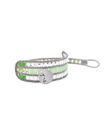 Bracelet Evolution Pastel Green Bracelet Evolution Pastel Pink Bracelet Evolution Pastel Yellow Ziio Jewels