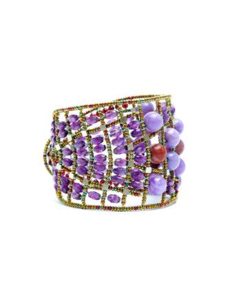 ziio-jewels-bracelet-plume-purple-side
